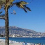 Apartamentos en playa Albir